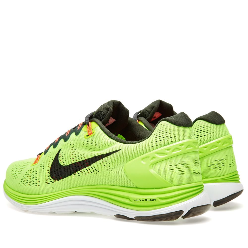 pretty nice 5aa90 40658 Nike Lunarglide+ 5 Flash Lime  END.