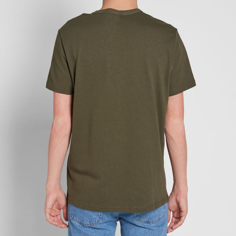 098476d7 Champion Reverse Weave Army Tee. Olive. ¥5,459. image