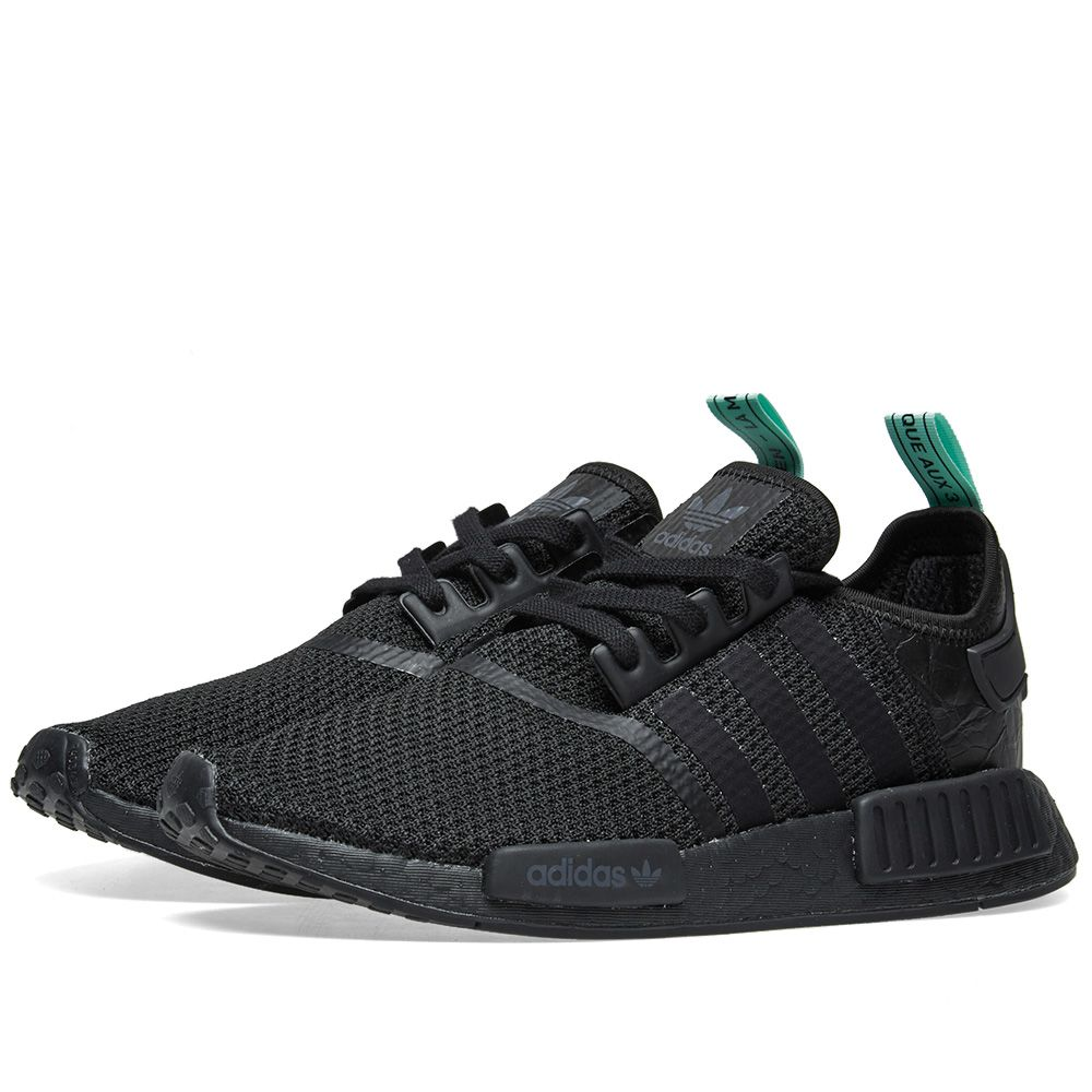 f0d8868f1be Adidas NMD R1 W Core Black   Clear Mint