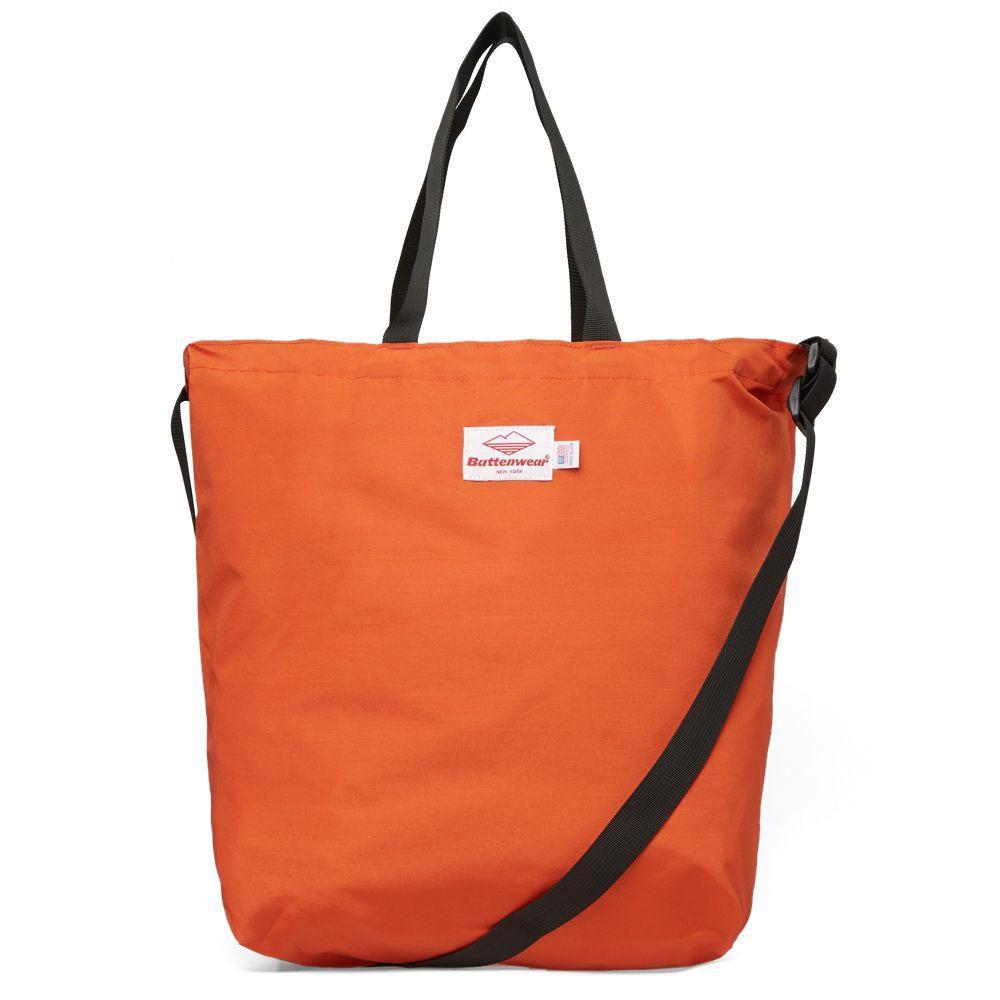 01f6f64c9e Battenwear Packable Tote Bag Orange