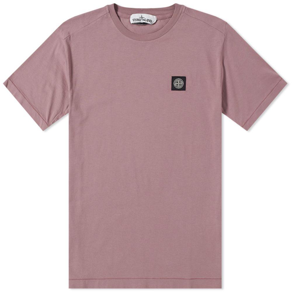 b42e8a71 Stone Island Patch Logo Tee. Rose Quartz. HK$919. image