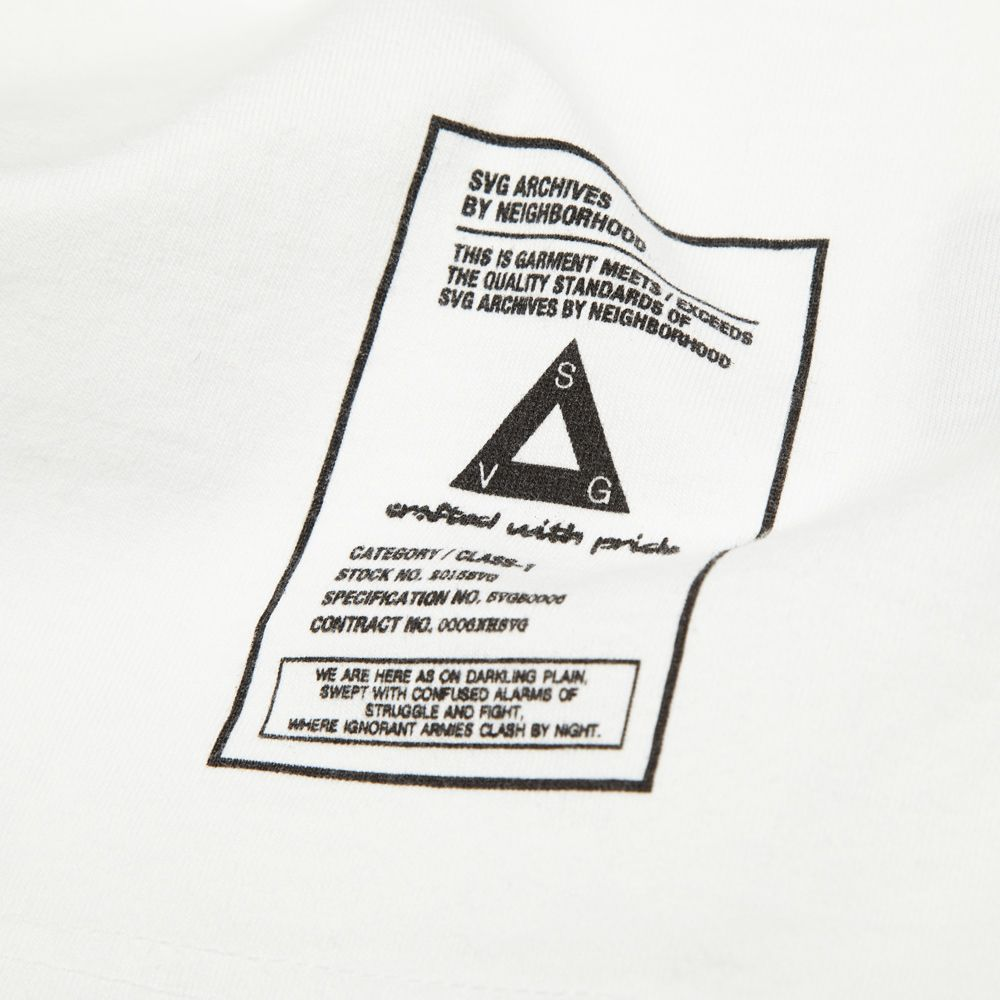 dcc57740dfd1e Neighborhood Heraldry Tee White
