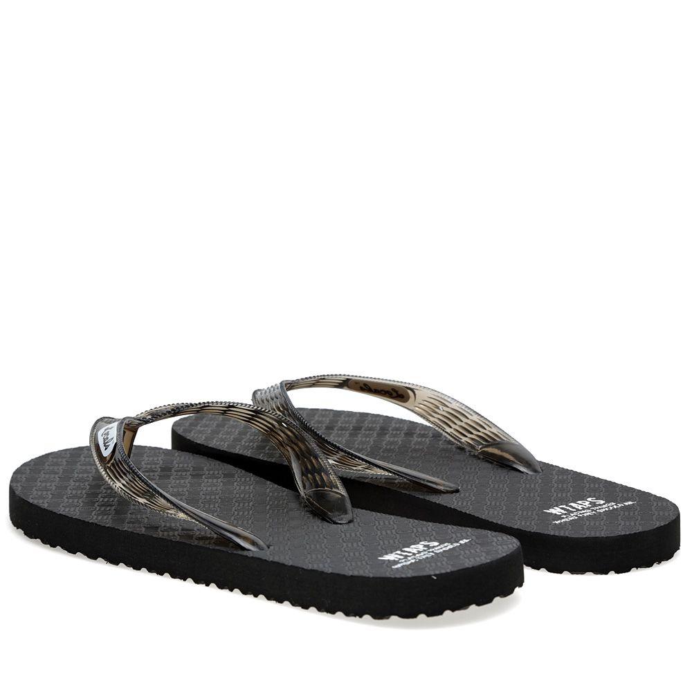 40ec0c61bb83 WTAPS x Locals Flip-Flops Black