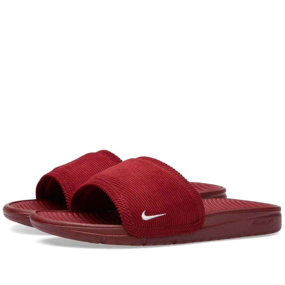 7d116d794 Nike Benassi Solarsoft Slide SP Team Red   White