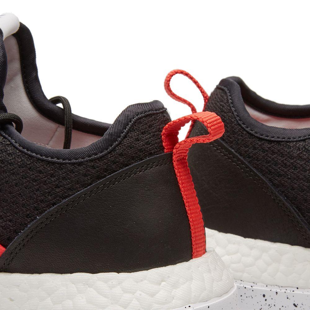 0d7f919df Adidas Consortium x Livestock Pureboost ZX PK. Core Black   Bright Red