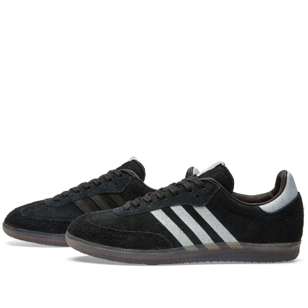 Adidas Consortium x Livestock Samba Core Black   White  b014b449c