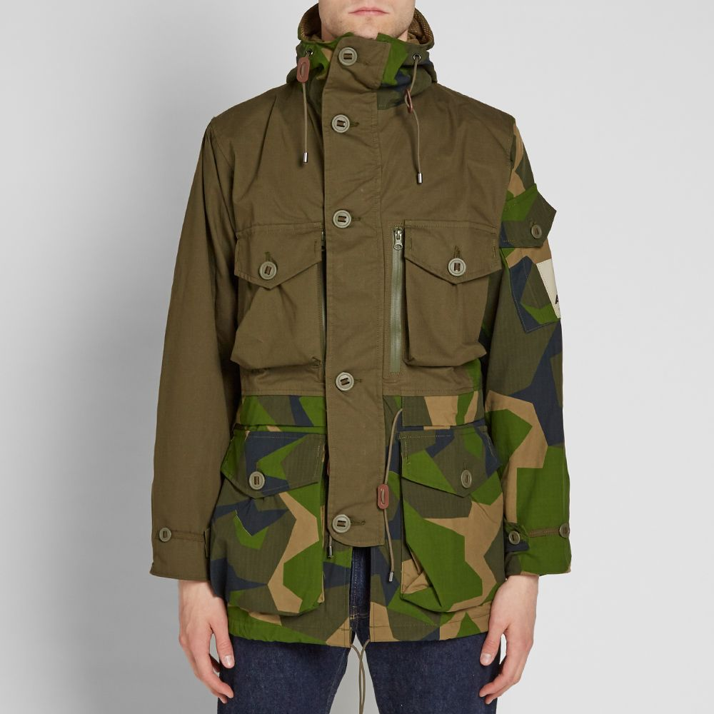 Finish Line Free Shipping Trick >> Ark Air Mindtrick Jacket Olive Green | END.