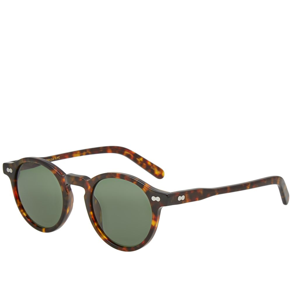 72a8f767b1 Moscot Miltzen 46 Sunglasses Tortoise   G15