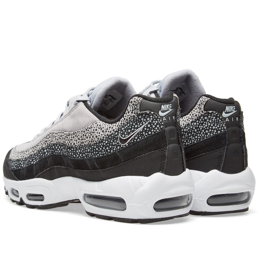 6c56b9db8760 Nike Air Max 95 Premium W Black   Wolf Grey