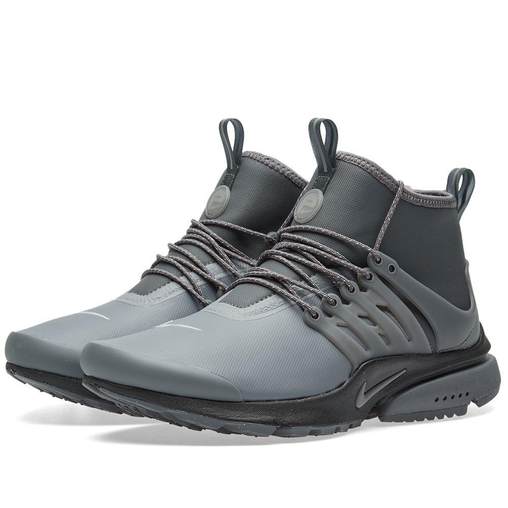 official photos 3e140 769f3 Nike W Air Presto Mid Utility Dark Grey   Reflect Silver   END.