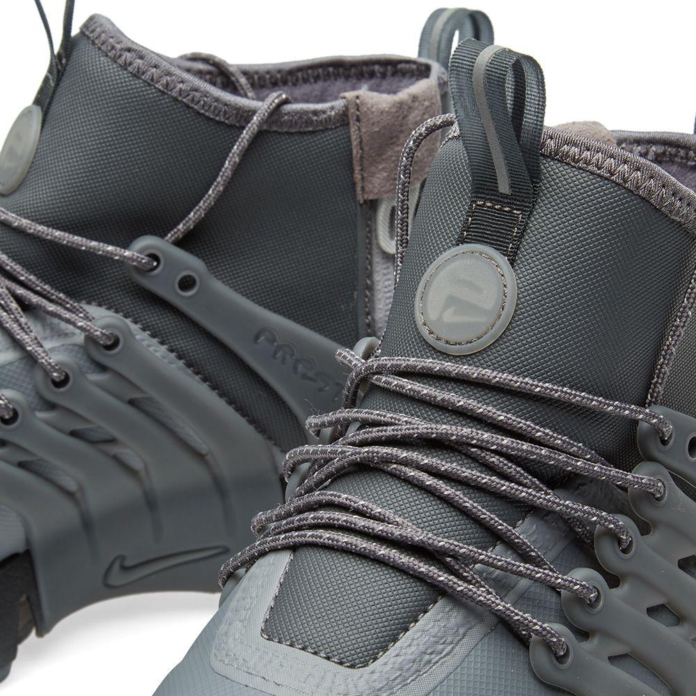 Nike W Air Presto Mid Utility Dark Grey   Reflect Silver  67e2a7e9d