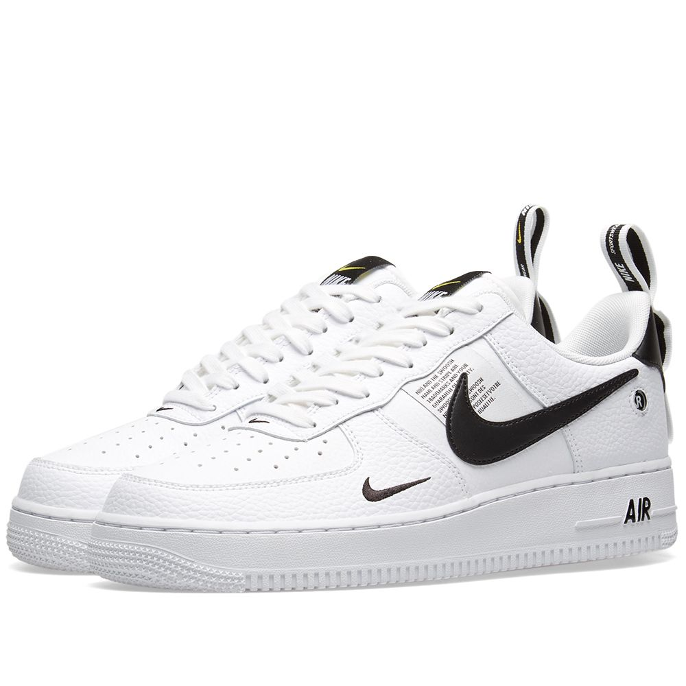 half off 8b7c8 35ff5 Nike Air Force 1 07 LV8 Utility White, Black  Yellow  END.