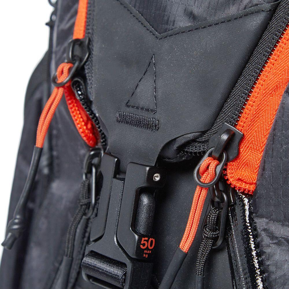 ddbbc4bbc9a5 NikeLab ACG Responder Backpack Black   Team Orange