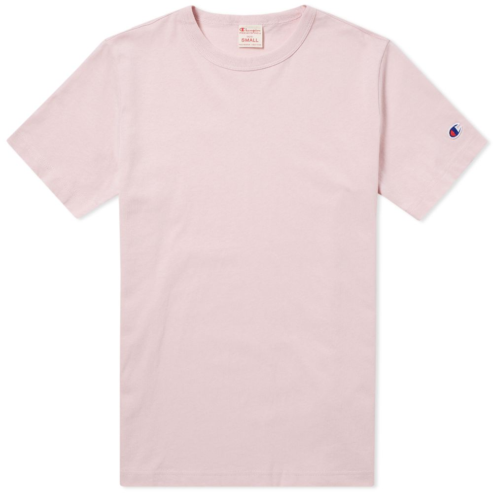 3bf4be5bb00d Champion Reverse Weave Classic Tee Pink