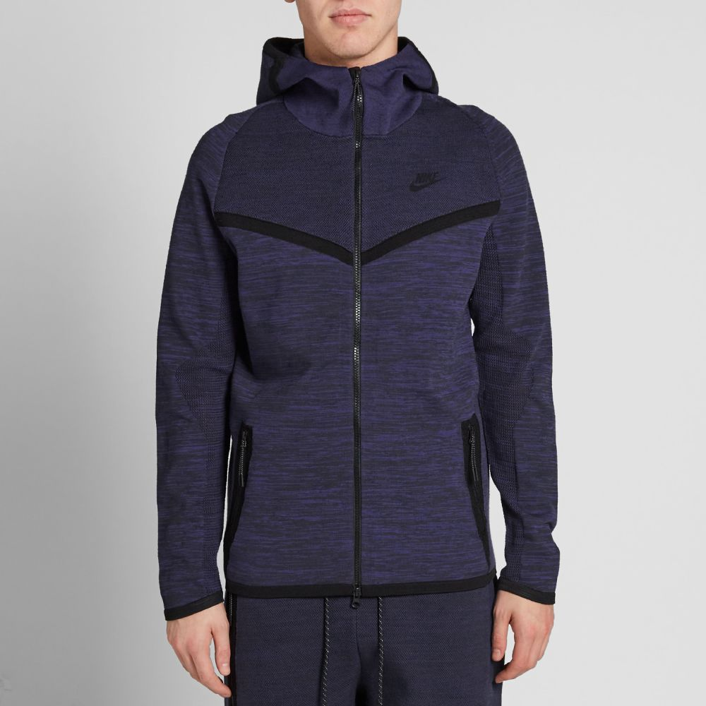 b3e5f04eaf Nike Tech Knit Windrunner. Deep Royal   Obsidian. HK 1