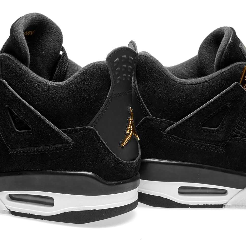 Nike Air Jordan 4 Retro G.S.  Royalty  Black 1f92c324f
