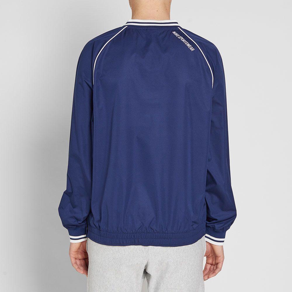 80e91fdb863f Nike Archive Pullover Jacket Binary Blue   Summit White
