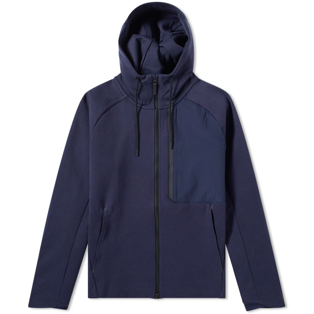 ac5b370b4613 Nike Tech Fleece Jacket Obsidian   Black