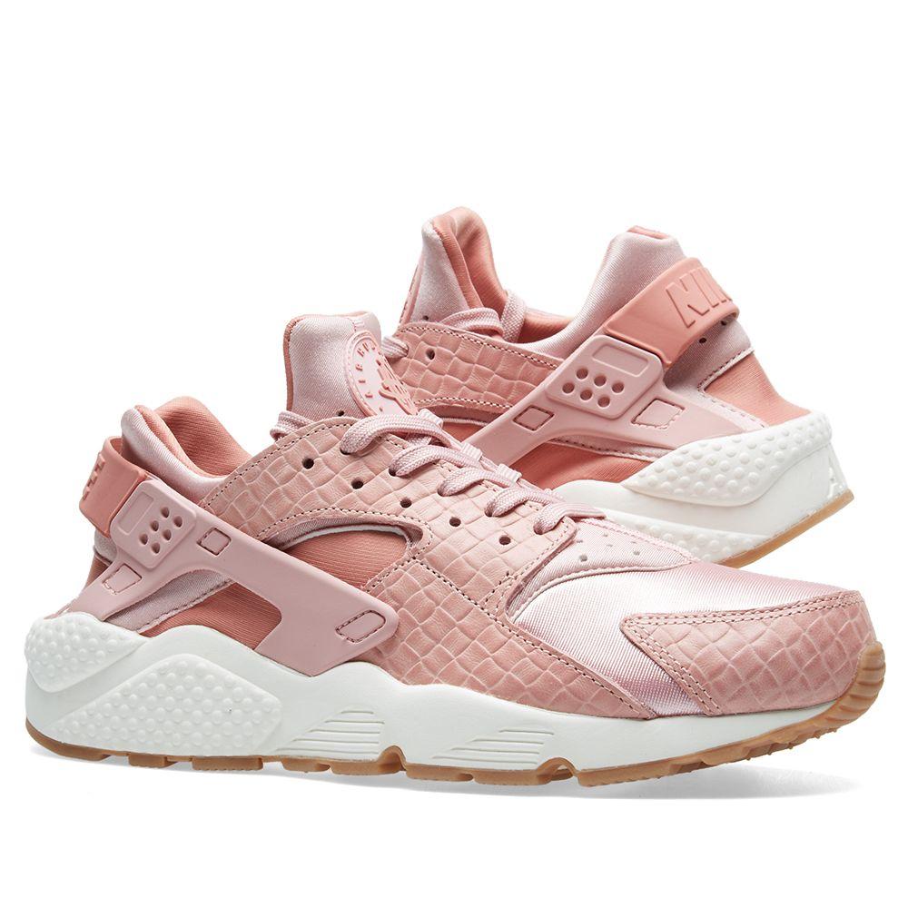 6945f367f4b5 Nike W Air Huarache Run Premium Pink Glaze   Pearl Pink