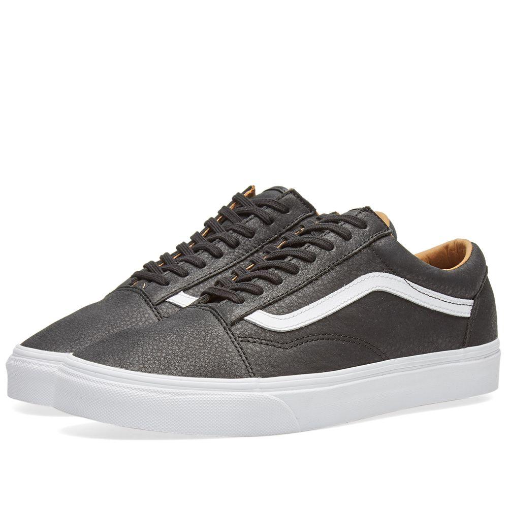 f4eb403e06e7 Vans Old Skool Premium Black   True White