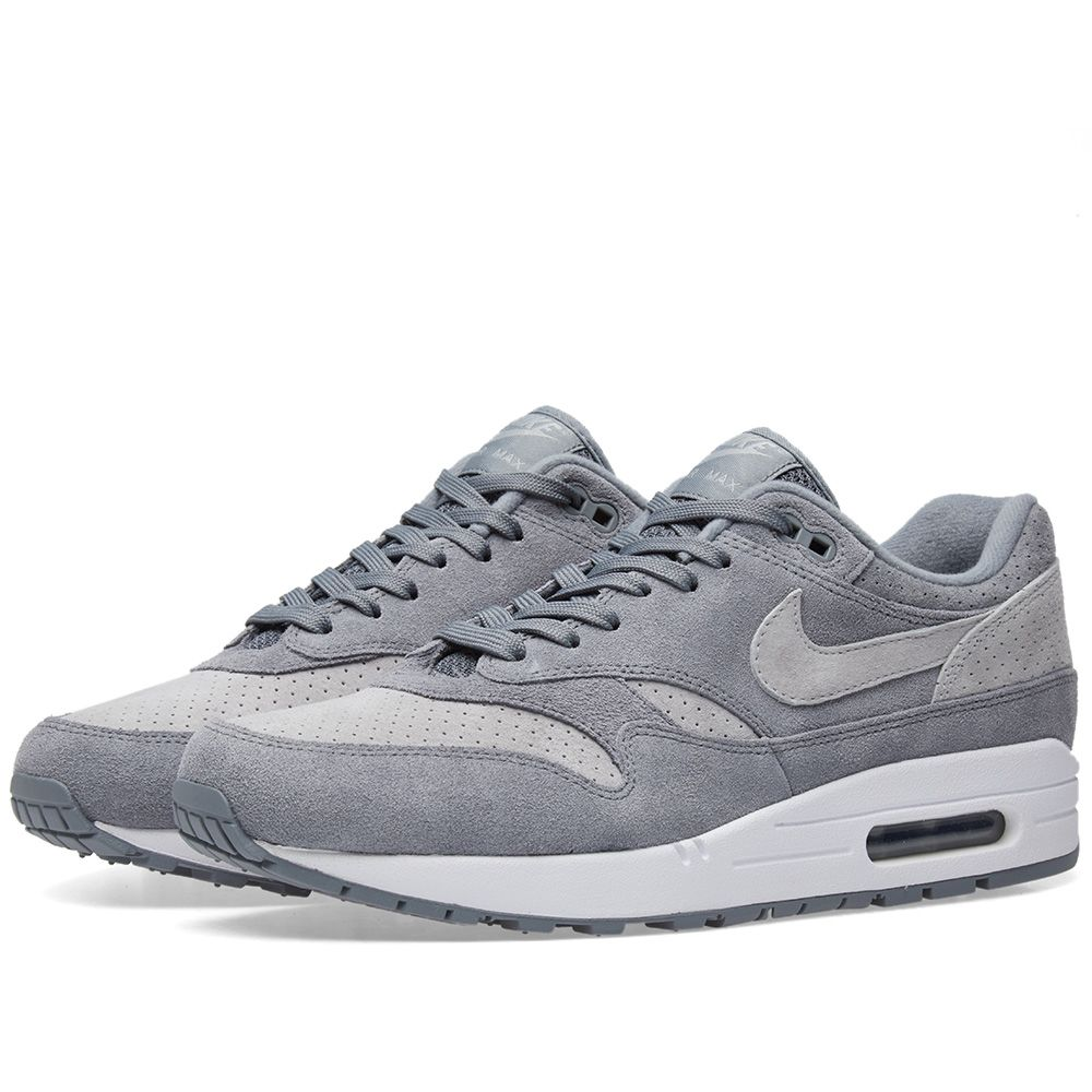 online store 6880d 1252d Nike Air Max 1 Premium Cool Grey, Wolf  White  END.