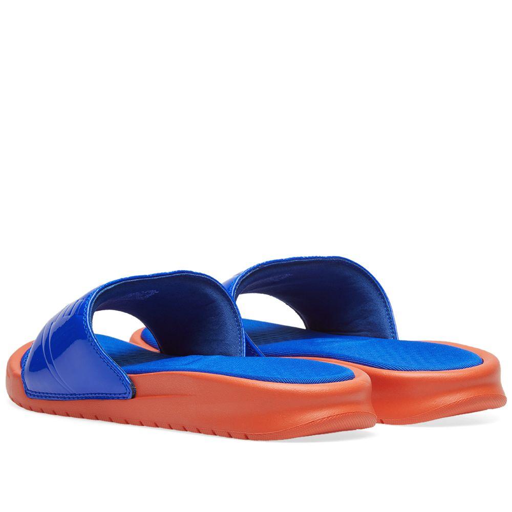 d7c77ac84698e0 Nike Benassi JDI Ultra Lux W Vintage Coral   Racer Blue