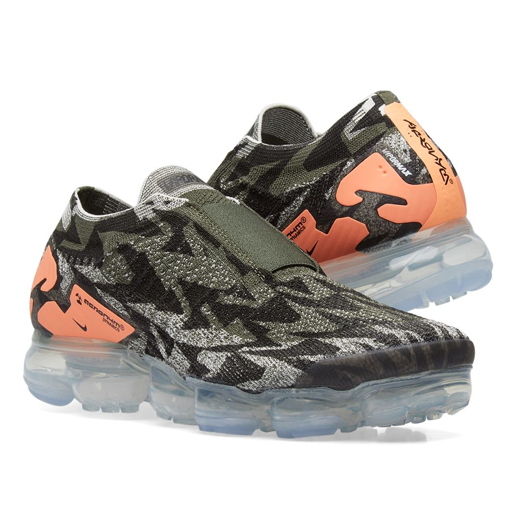 huge selection of a40a0 d5695 Nike x Acronym Air VaporMax Flyknit Moc 2 Sail, Cargo Khaki