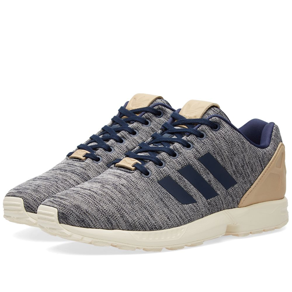 80684f89a Adidas ZX Flux Collegiate Navy   Pale Nude