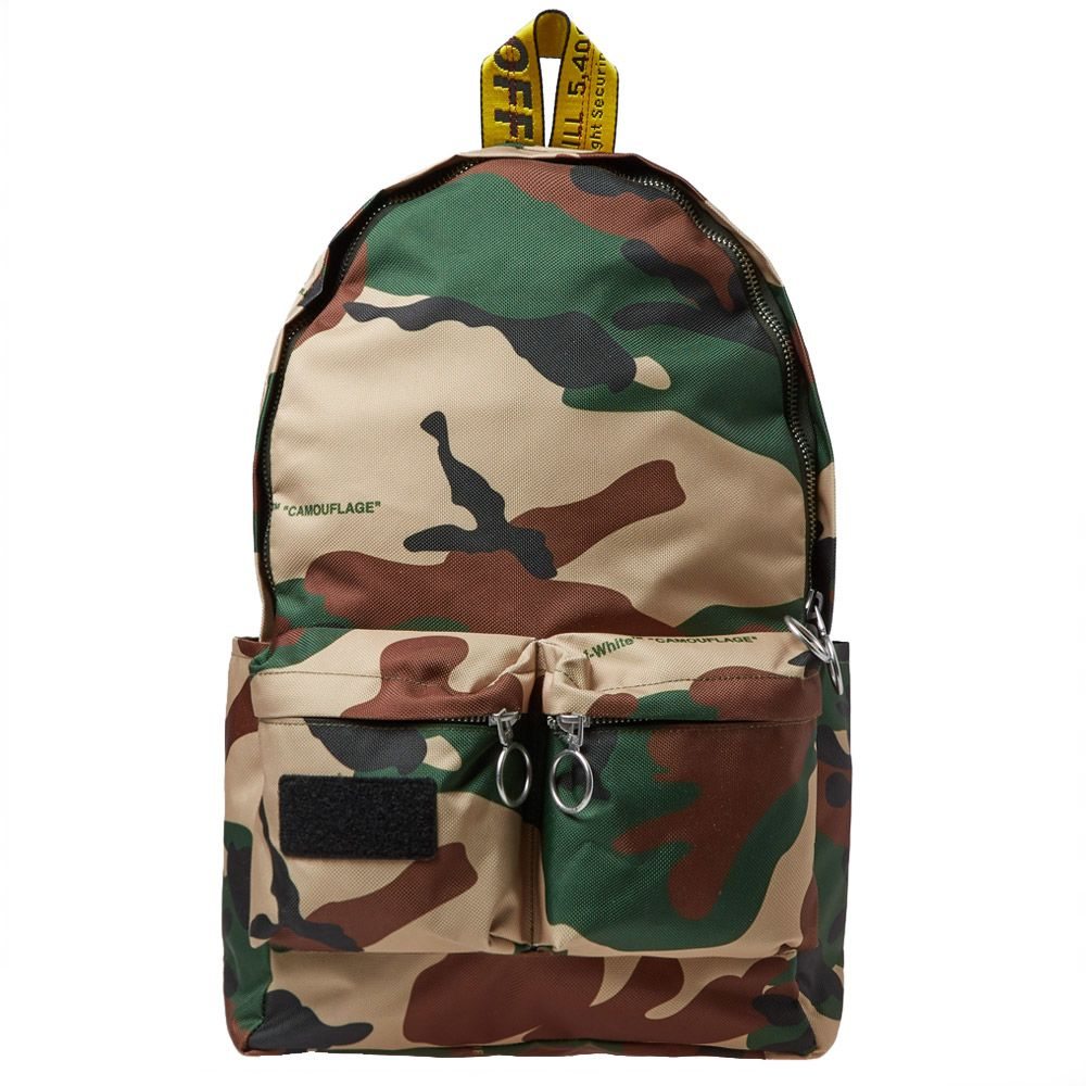 e2a7b64b05aa Off-White Camo Backpack Camo