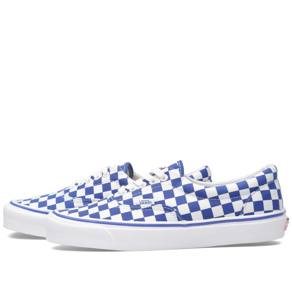 d187700aa0 Vans Vault OG Era LX. True Blue Checkerboard. S 89 S 59. image