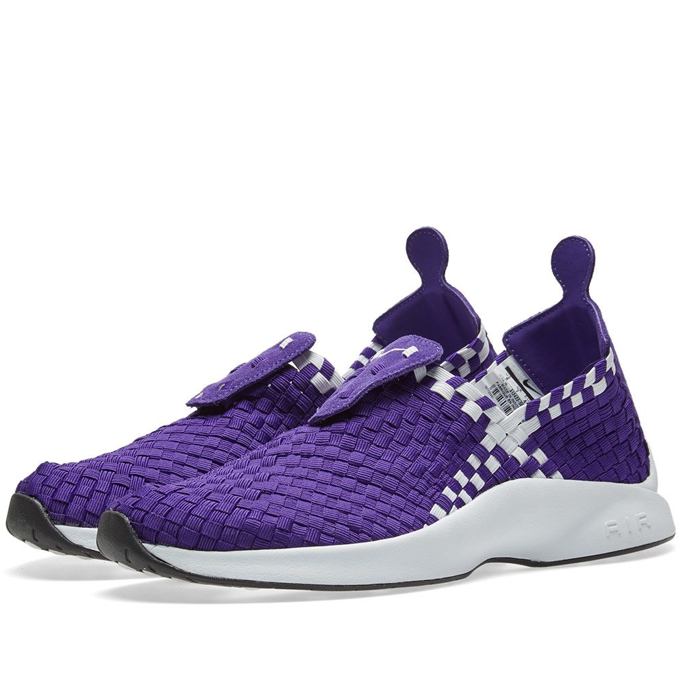 c0ead16b2cad Nike Air Woven Court Purple   White
