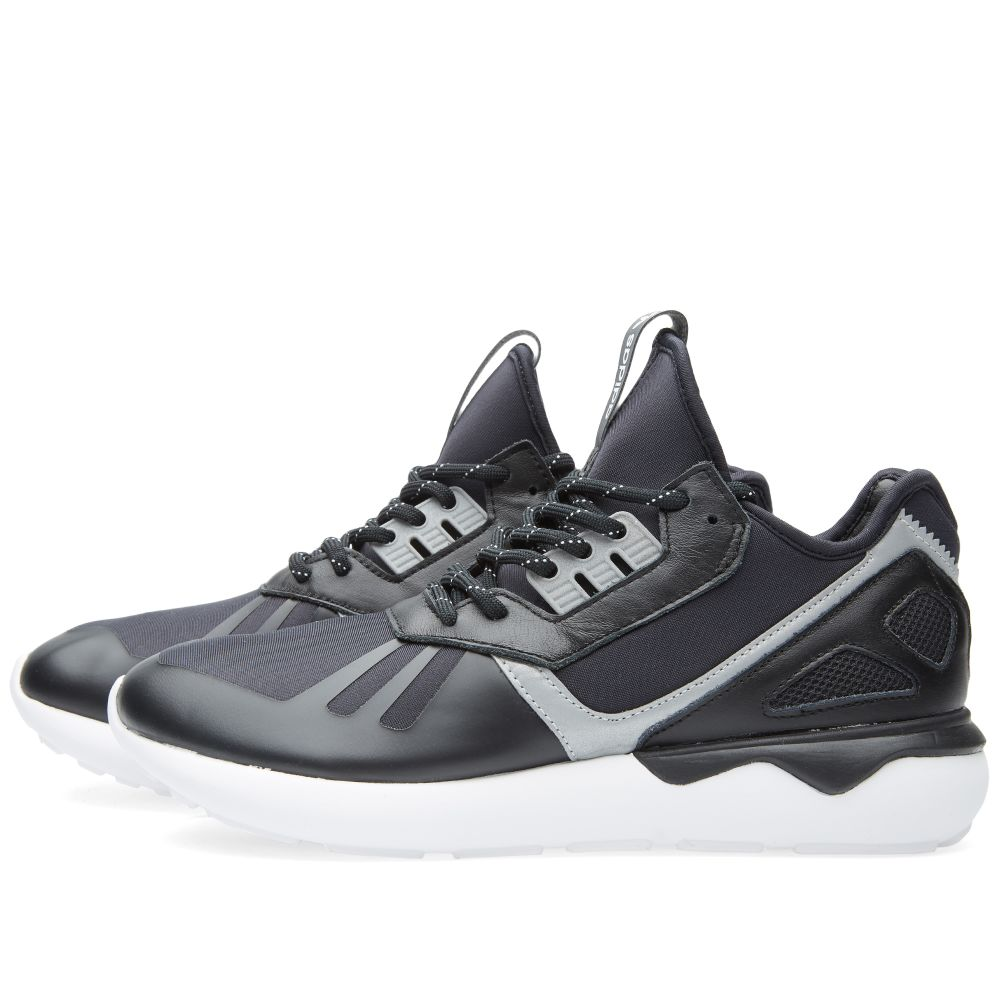 new products f1a80 b0fef Adidas Tubular Runner Core Black   White   END.