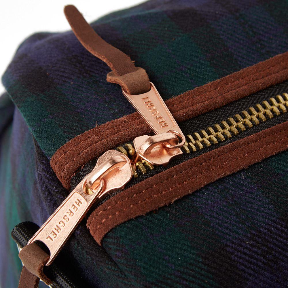 Herschel Supply Co. Novel Duffle Bag Blackwatch Plaid  10d9aa4693897
