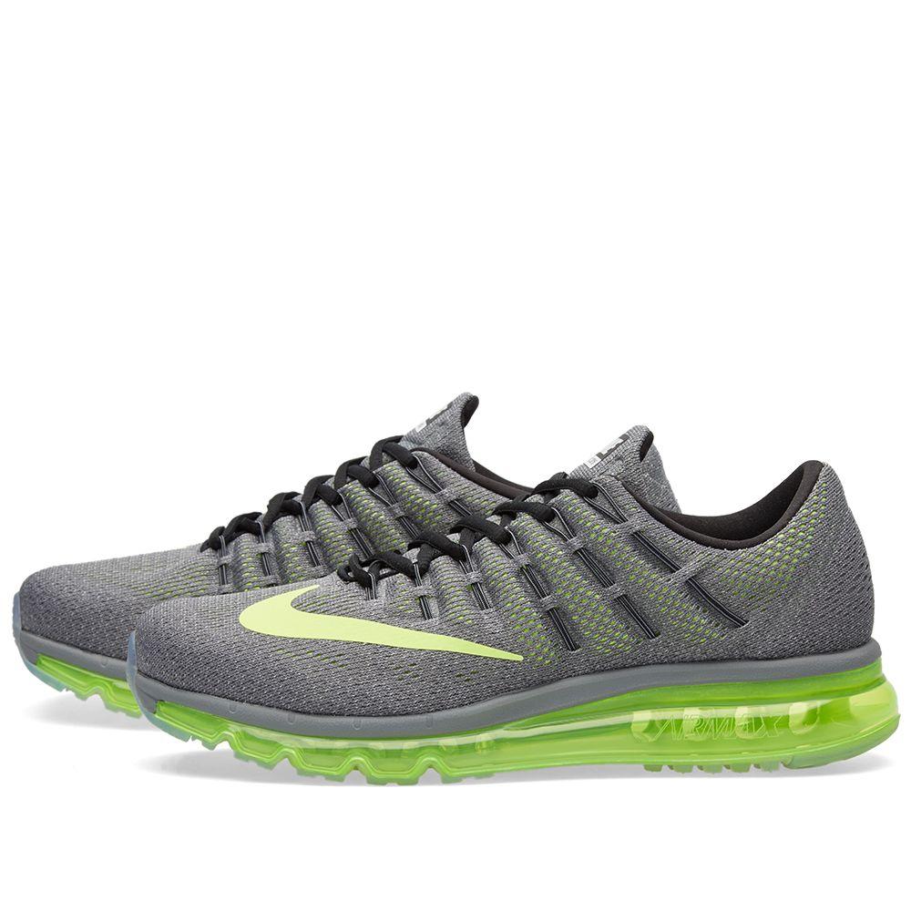 new product b6fd8 90052 Nike Air Max 2016 Cool Grey, Volt   Black   END.