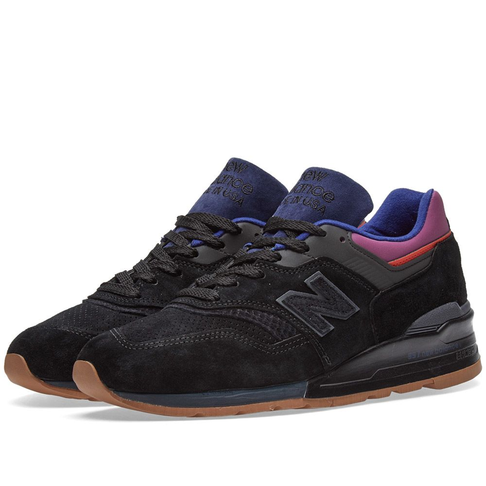 defc3a71ed5 New Balance M997CSS  Black Magnet  - Made in the USA Black   Purple ...
