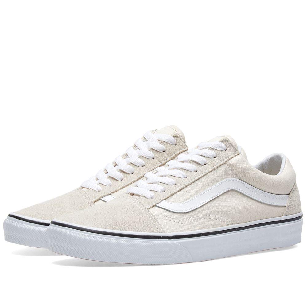 4e6dcb6a26 Vans Old Skool Birch   True White