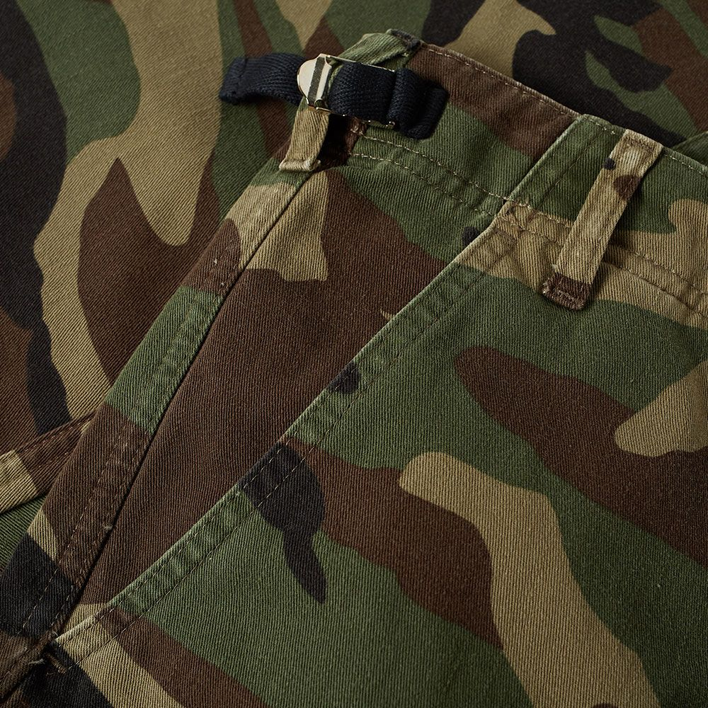 ef68cd03824b Balenciaga Slim Camo Cargo Pant Khaki