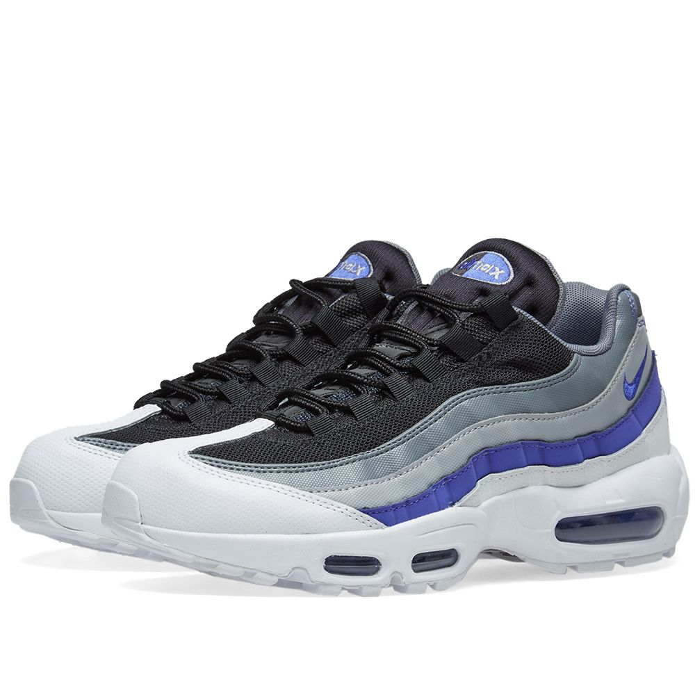 the latest c18eb 43b62 Nike Air Max 95 Essential White, Violet, Grey  Black  END.