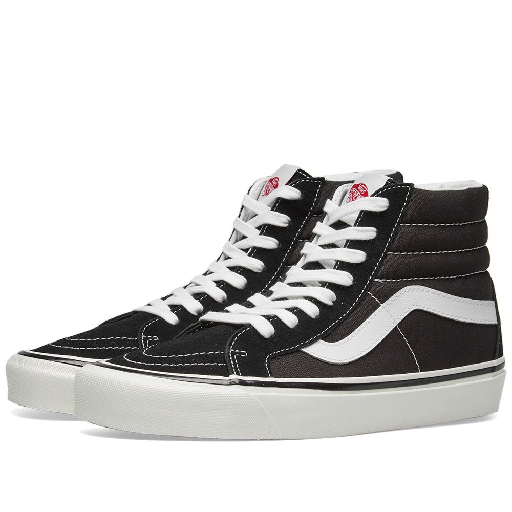 067437c9aab7 Vans SK8-Hi 38 DX Black   True White