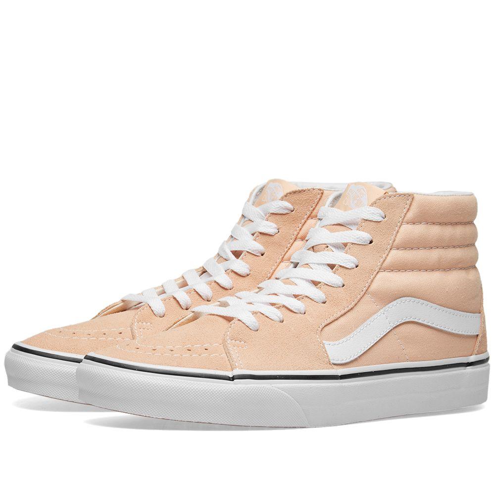 f0ff98d271 Vans Vans SK8-Hi Bleached Apricot   True White