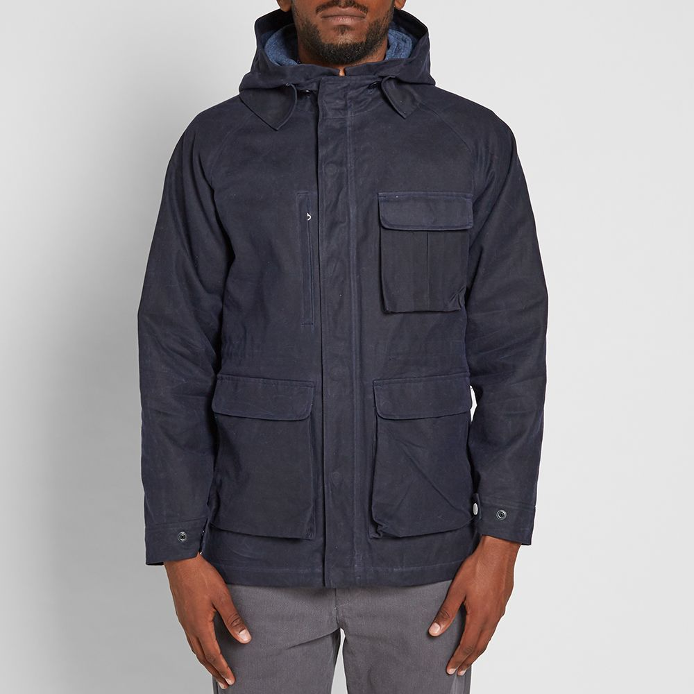 06819d63e42b Freemans Sporting Club Isle of Man Parka Navy