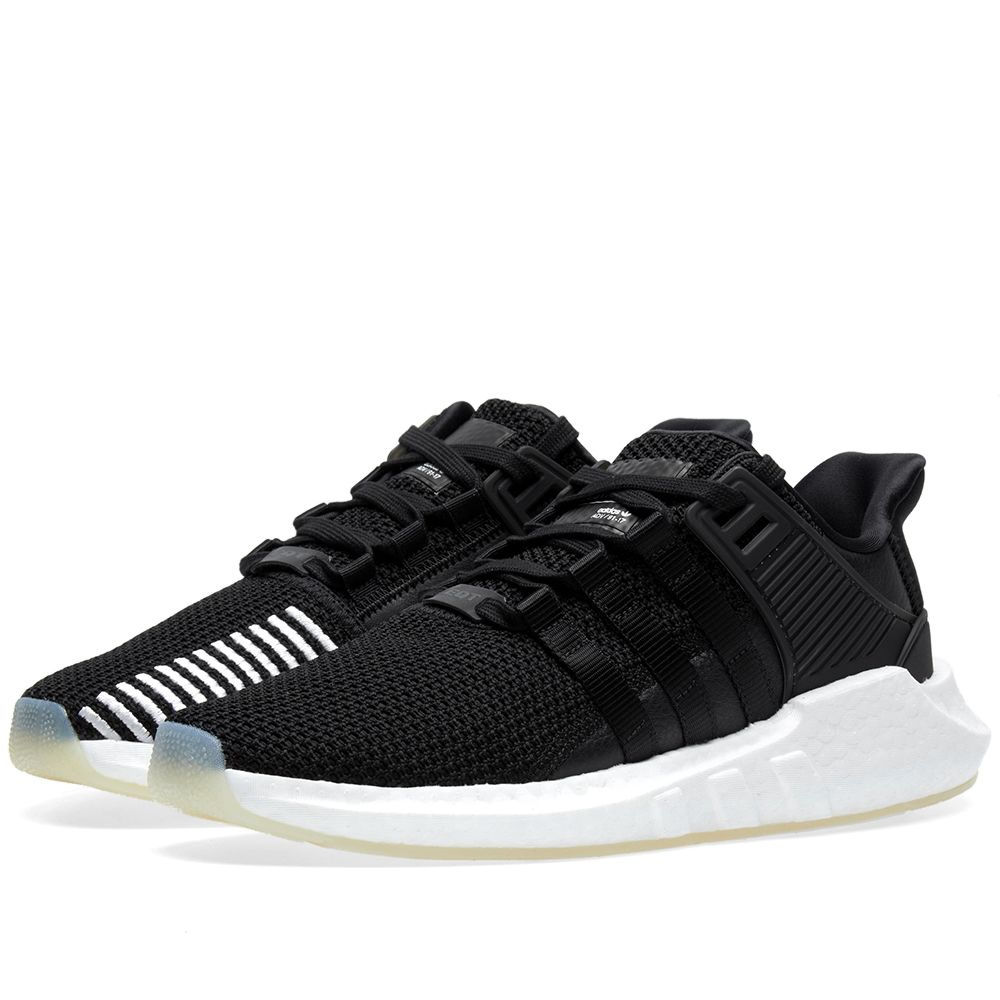 promo code f2f09 6448c Adidas EQT Support 9317 Core Black  White  END.