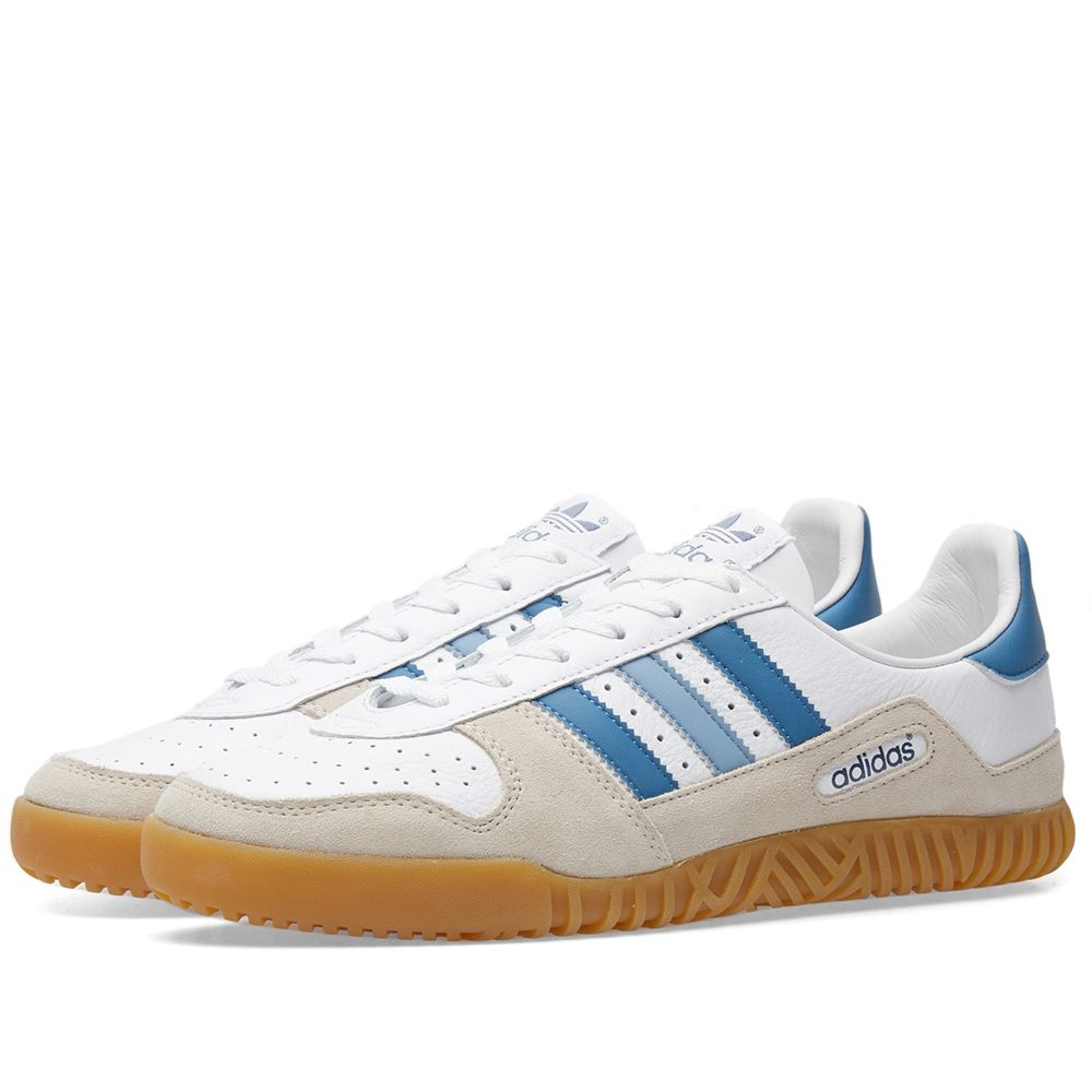 hot sale online 05ce0 90d11 Adidas SPZL Indoor Comp White  Clear Brown  END.