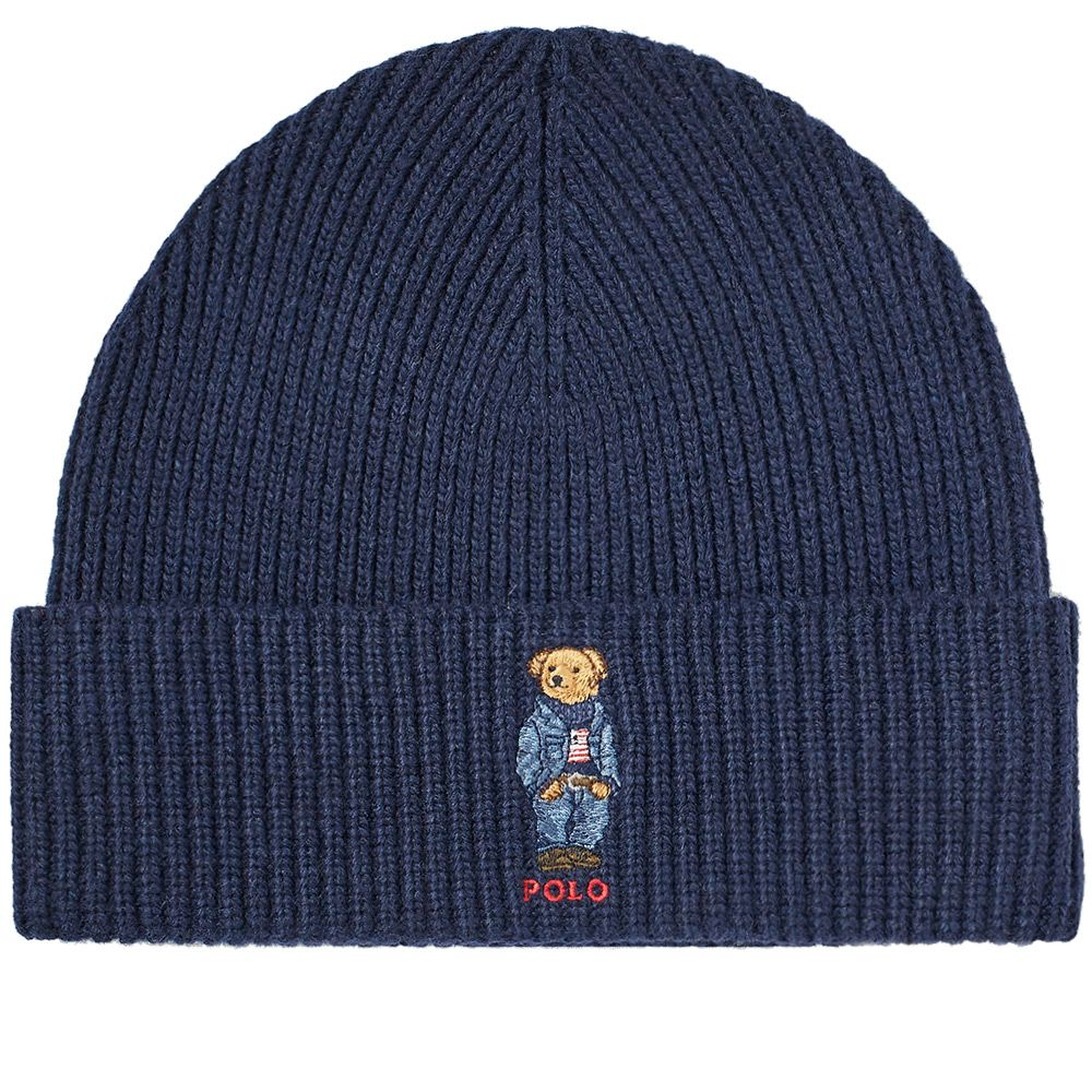 77a2c407c94 Polo ralph lauren classic bear beanie hunter navy end jpg 1000x1000 Polo  bear beanie