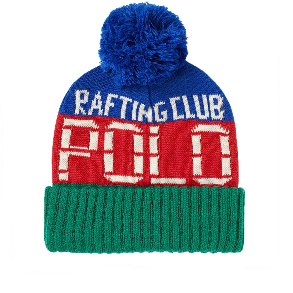 Polo Ralph Lauren Rafting Club Bobble Hat. Multi.  59. image 1bf1f739e36