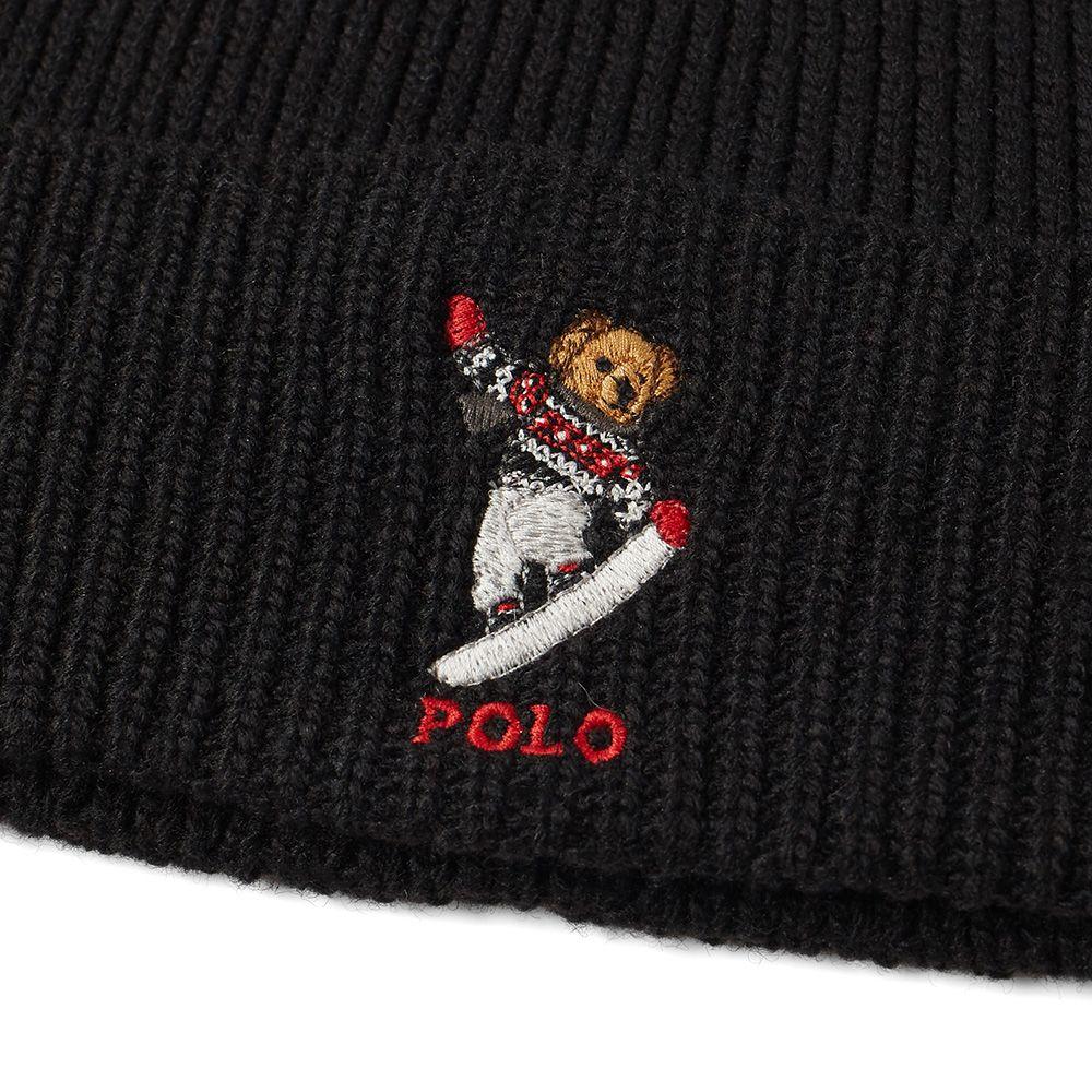 8ceadad4d76 Polo ralph lauren snowboard bear beanie black end jpg 1000x1000 Snowboard polo  bear beanie