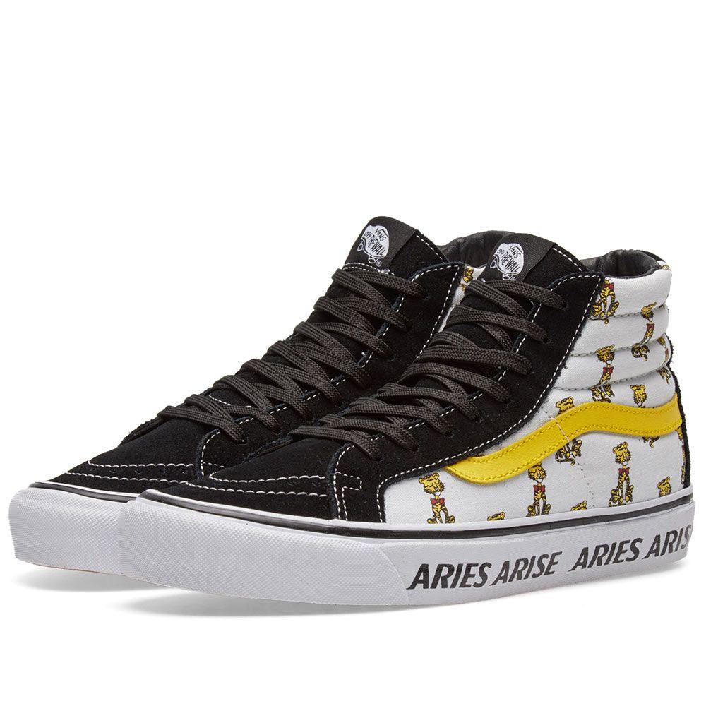 bc35aa3bbe02 Vans x Aries OG Sk8-Hi LX Black