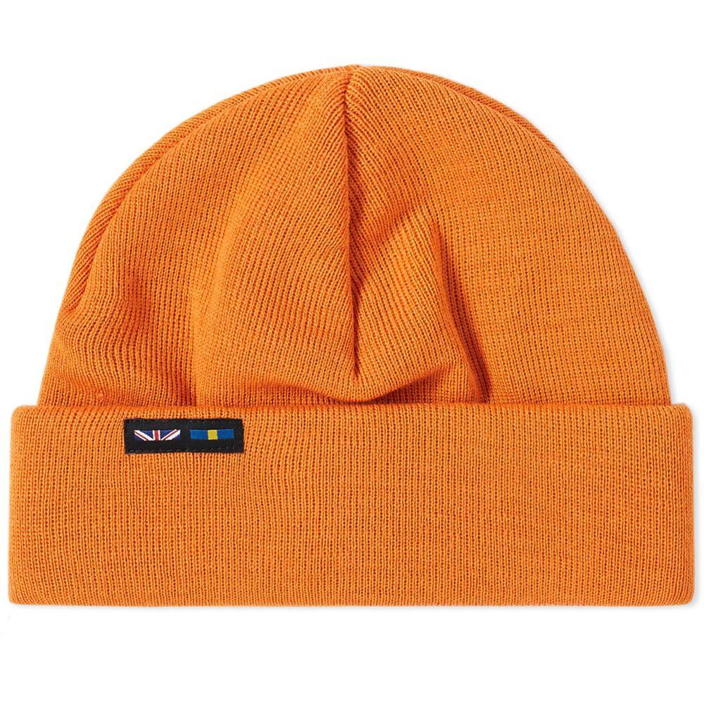 Nigel Cabourn x Peak Performance Beanie Sun Bleached Orange  fe1227f121bf
