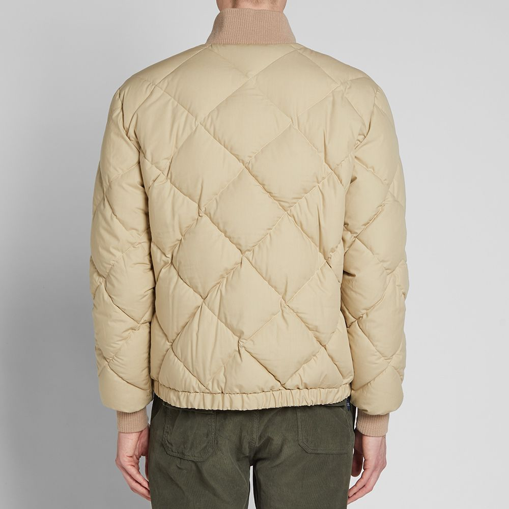 1e833707d343 Nigel Cabourn x Peak Performance Short Down Jacket Mountain Stone