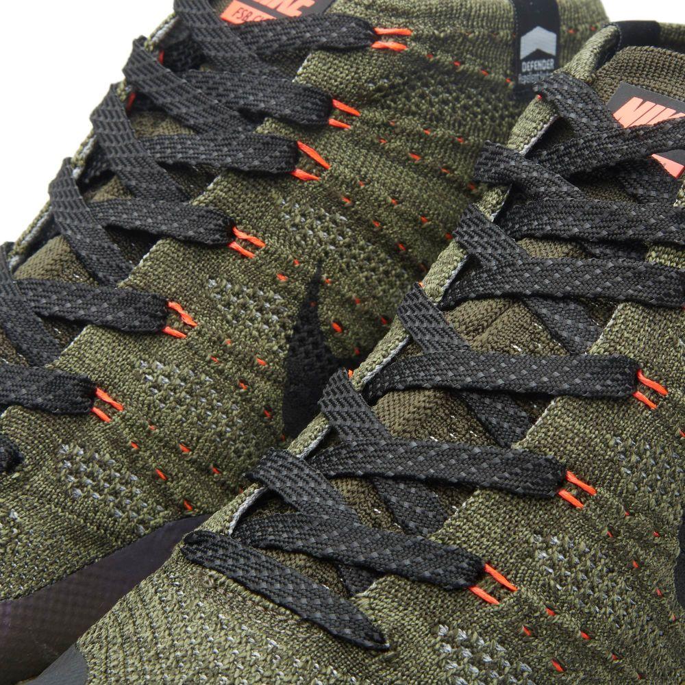 e6c9c07e6a1d Nike Flyknit Trainer Chukka FSB Sequoia   Black
